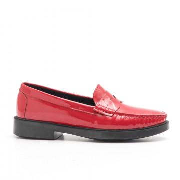 loafers woman vittoria mengoni 8851zoe rosso 3914
