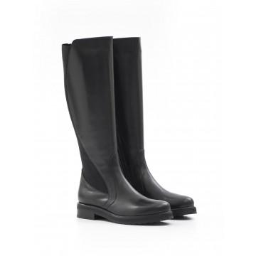 boots woman laura bellariva 7010 515 vit elast nero 709