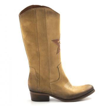 boots woman zoe texpower camoscio camel 4361