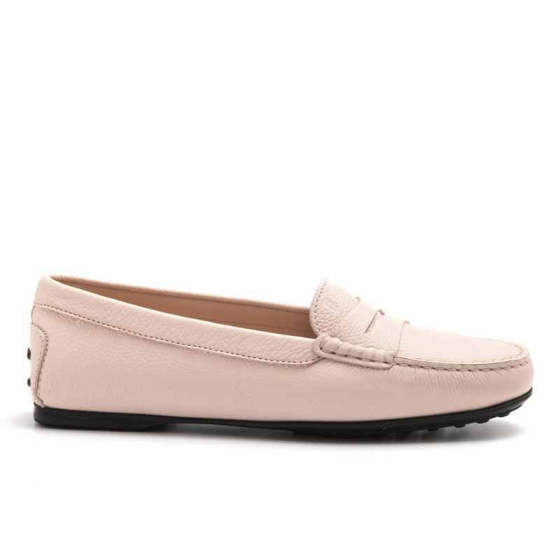 1d09774216 Soft pink Tod's City Gommino loafers in leather