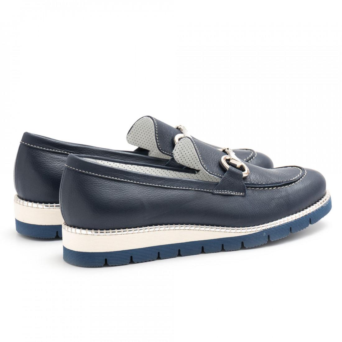 loafers woman alfredo giantin 6239pony blu 4444