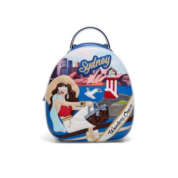 backpacks woman braccialini b12798cartoline 4510