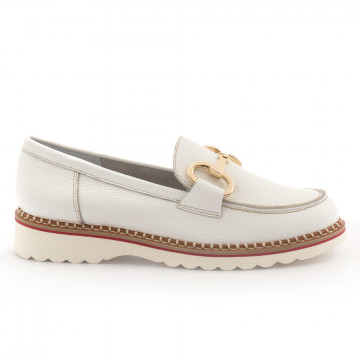 loafers woman alfredo giantin 6242cervo bianco 4519