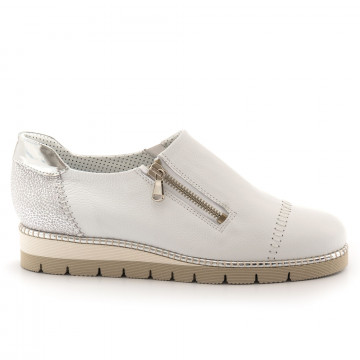sneakers woman alfredo giantin 6287pony bianco 4523