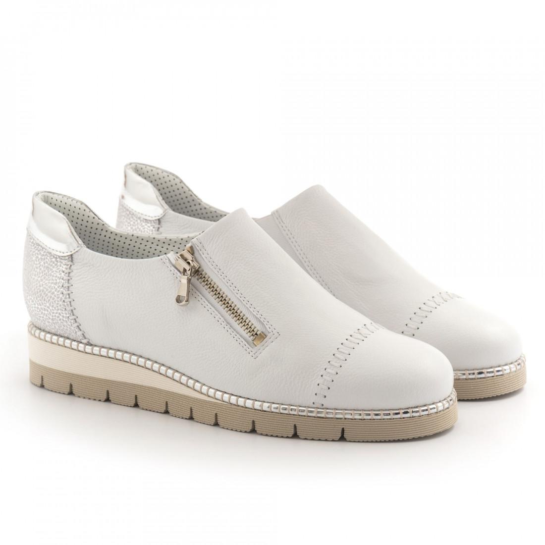 sneakers woman alfredo giantin 6287pony bianco 4523