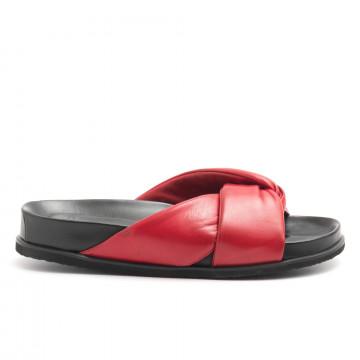 sandals woman lorenzo masiero b4125659 kb np rosso 4534