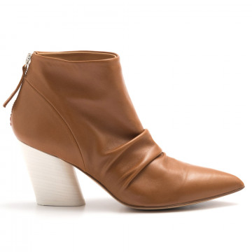 booties woman halmanera rose 12baron caramel 4541