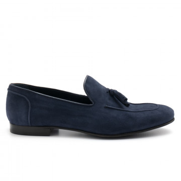 loafers man lhomme national 101 3vel blu 4602