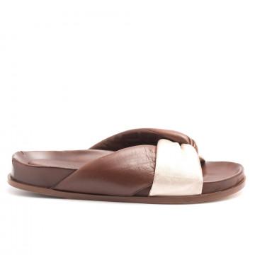 sandals woman lorenzo masiero s192721 5659 np cognac 4484