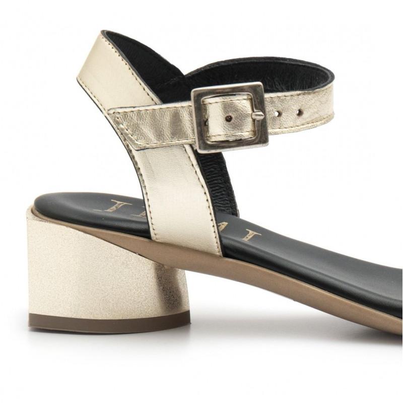 sandals woman jemi 303lam platino  4688