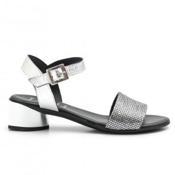 sandals woman jemi 303lam argento 4691
