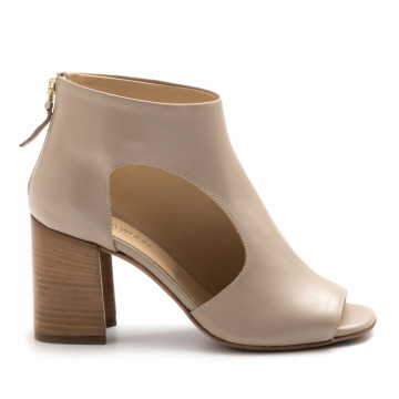 booties woman victoria wood b3483setanil stone 4618