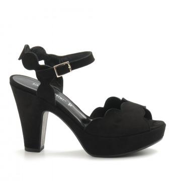 sandals woman silvia rossini 2116camoscio nero 4596