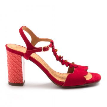 sandals woman chie mihara cm beijoante rojo 4585