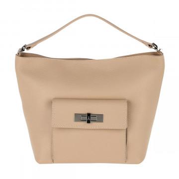 shoulder bags woman patrizia pepe 2v8504 a4u8b647 land taupe 4732