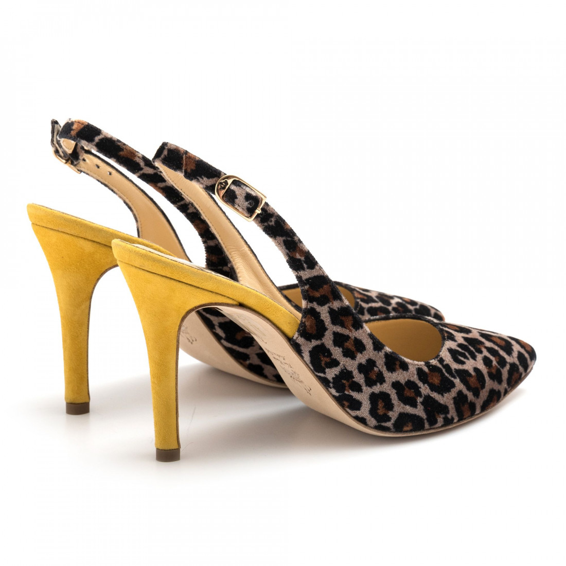 pumps woman larianna ch 2002leopardo taupe 4577