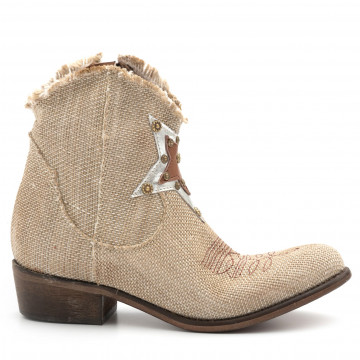 booties woman zoe nevada06 sacco metal grezzo 4749