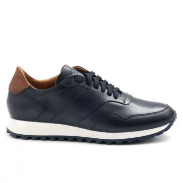sneakers man botti lapo u120 oceano cognac 4750
