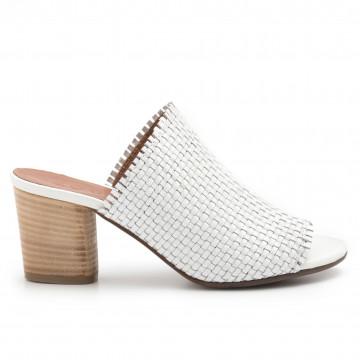 sandals woman zoe monica 032intreccio bianco 4781