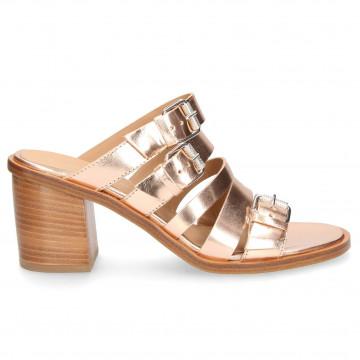 sandalen damen janet  janet 43600elettra rame 4801