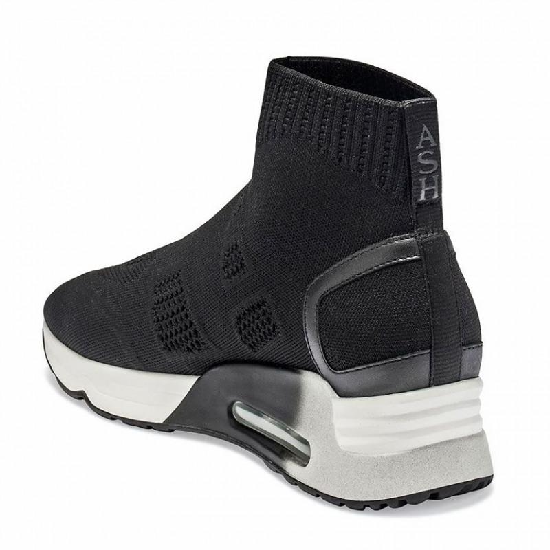 Boot Ash Knit Sneakers Black Liza Ankle 34Acjq5RLS