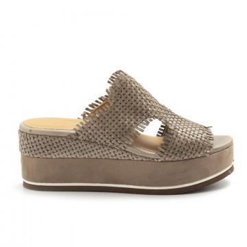 sandalen damen zoe mary 054intreccio taupe 4836