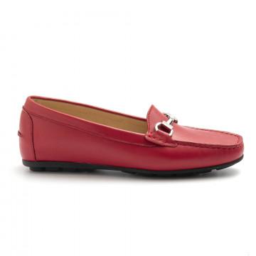 loafers woman vittoria mengoni 1245vitruo rosso 4853