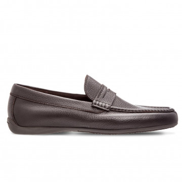 loafers man moreschi panamadark brown 4140