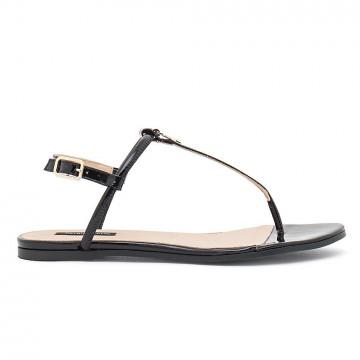 sandals woman patrizia pepe 2v4216 a3mqk103 nero 4464