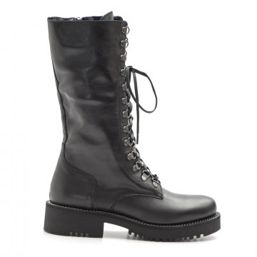 military boots woman keb 983soft nero 3770