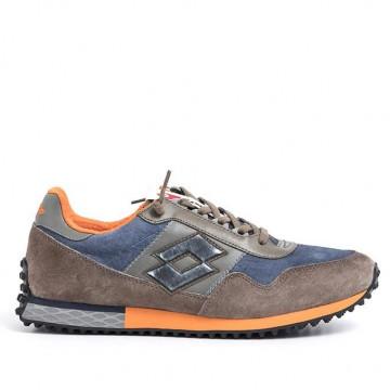 sneakers man lotto leggenda t0853city brown 2207