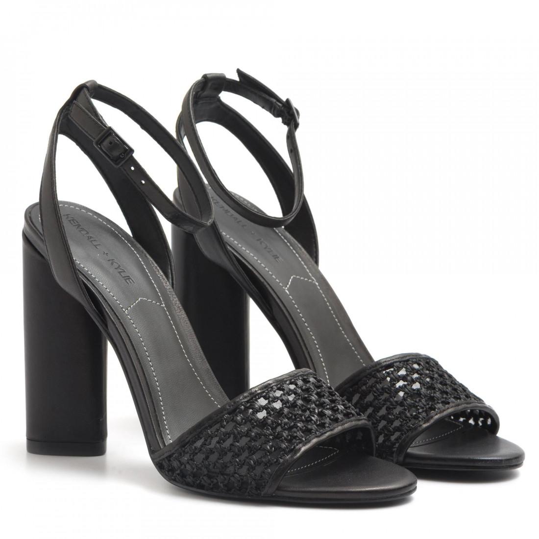 sandals woman kendall kylie gennablack 3225