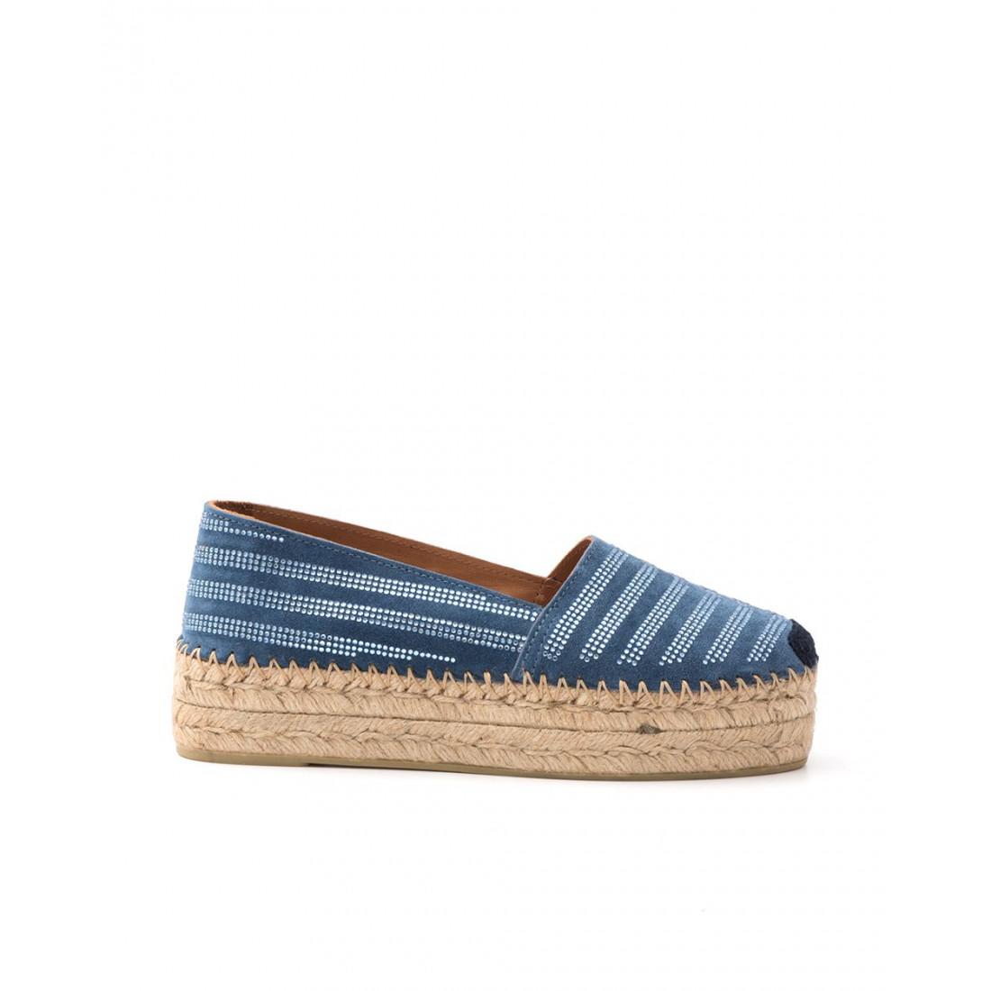 slip on woman fiorina  s 122 259 stripe blue navy 1370