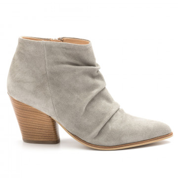 booties woman carmens a42579tex 3 mousse salvia 4538