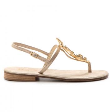 sandals woman balduccelli k67burma platino 3285