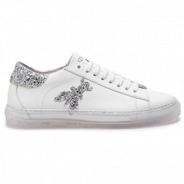 sneakers woman patrizia pepe 2v8807 a2gxj2dr white trasparent 4467