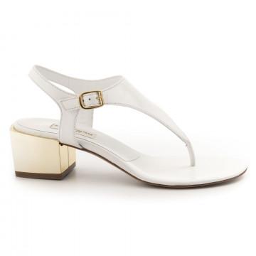 sandals woman daniele tortora dt360capretto bianco 4911