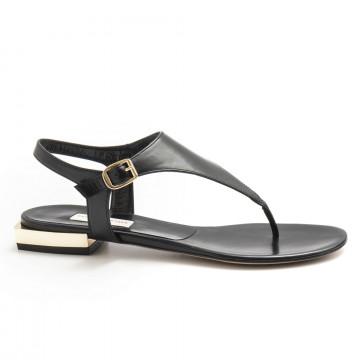 sandalen damen daniele tortora dt360capretto nero 4923