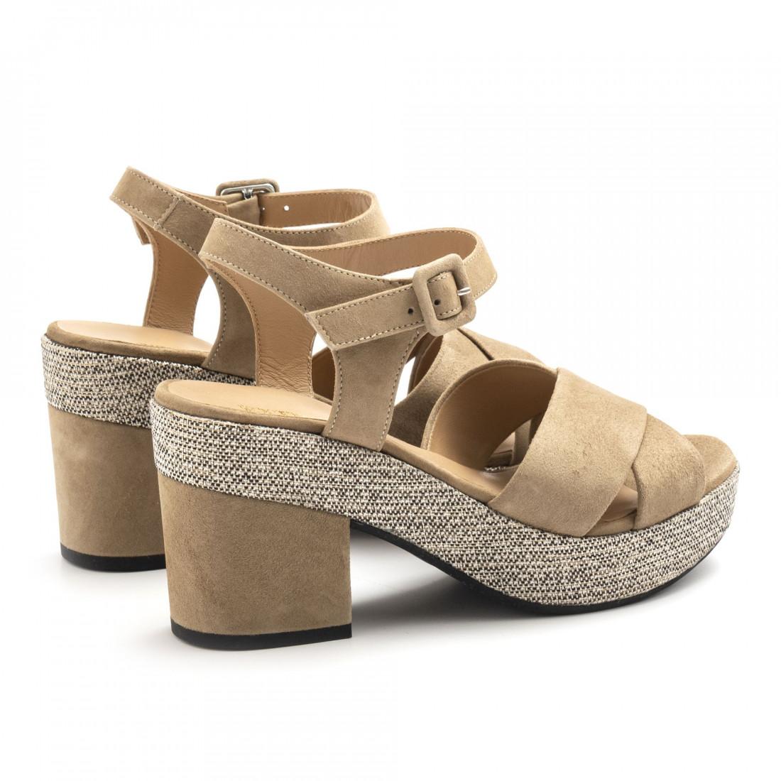 sandals woman extreme 2666camoscio ecru 4935