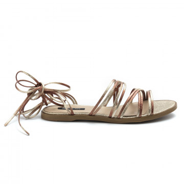 sandals woman patrizia pepe 2v8820 a5a9j2cu rose platinum 4948