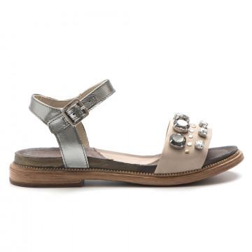 sandalen damen dei colli tato1341507 taupe 3260