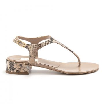 sandals woman daniele tortora dt361pitone  4906
