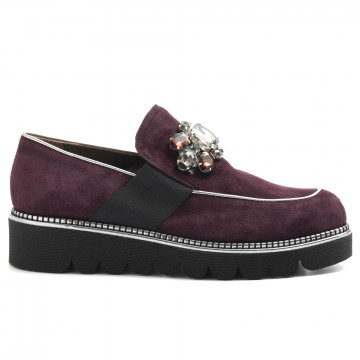 slip on woman alfredo giantin 6415cam prugna 5114