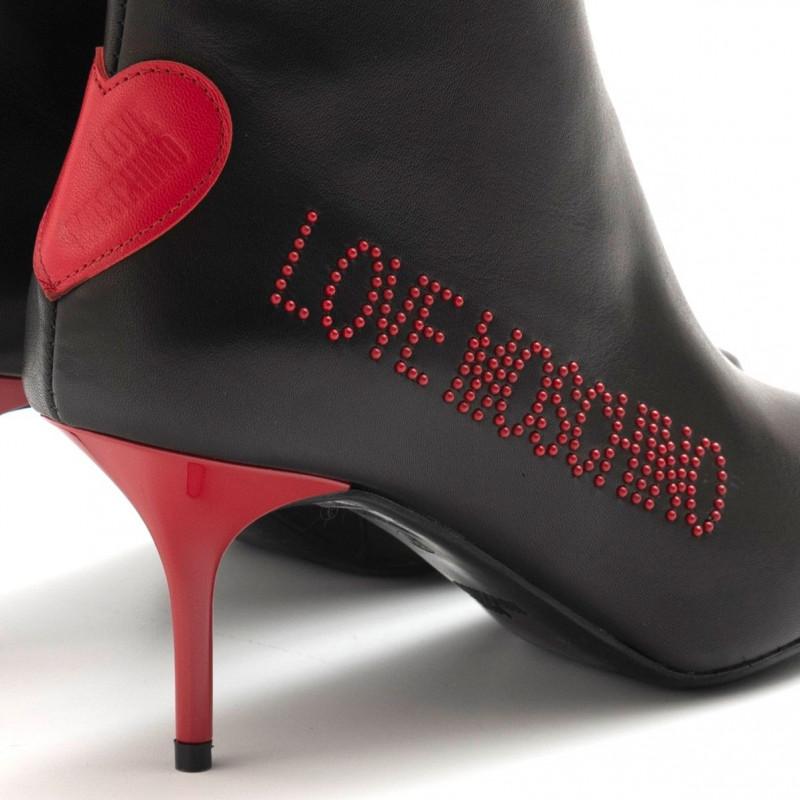 stiefeletten damen love moschino ja21027g18 ibl 000 nero 4989