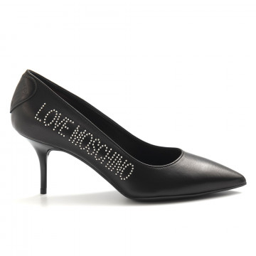 pumps woman love moschino ja10037g18 ib0 000 nero 4986