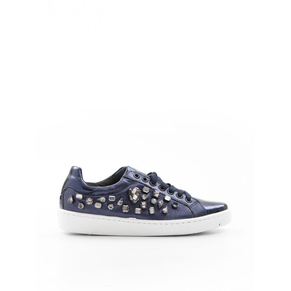 sneakers woman giulia n 1000  pietre 8 blu 957