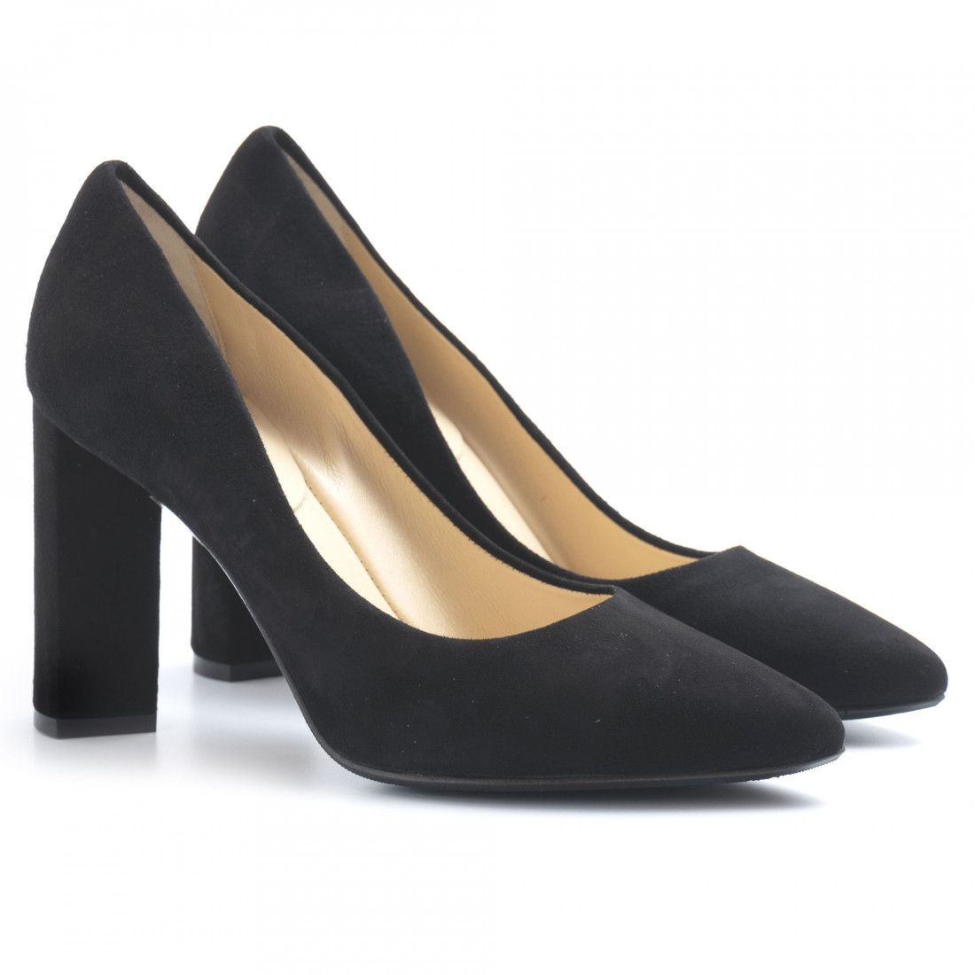 pumps woman larianna de 1002camoscio nero 5071