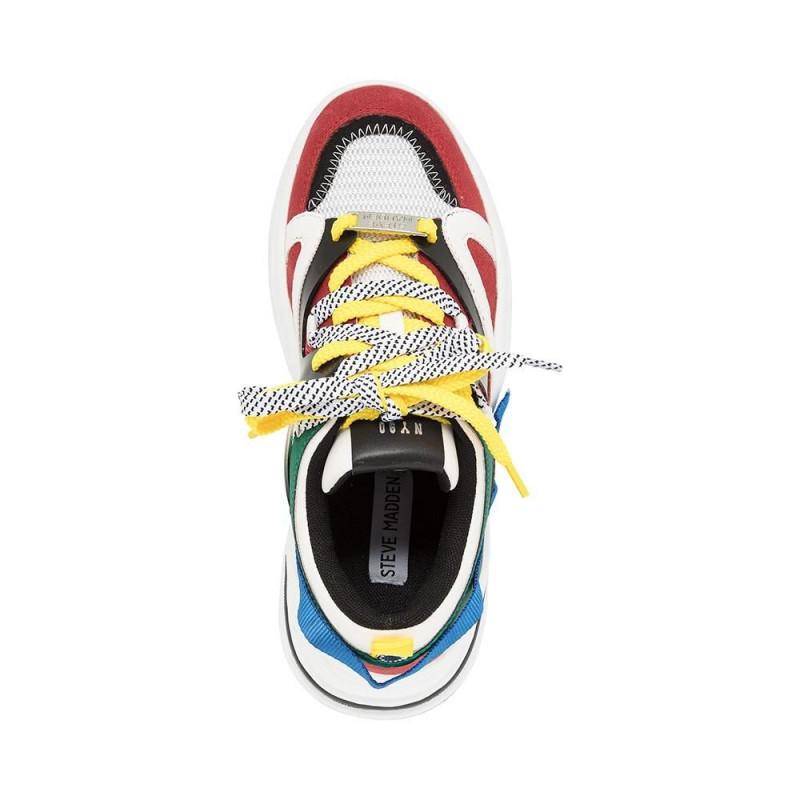 best sneakers 24b86 5afa6 Women's Steve Madden Fay Sneaker Bright Multi