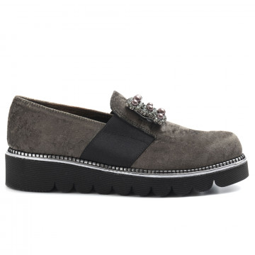 slip on woman alfredo giantin 6545marsiglia bosco 5120