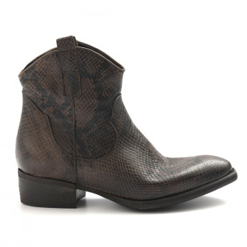 booties woman zoe new tex pitpitone castoro 5021